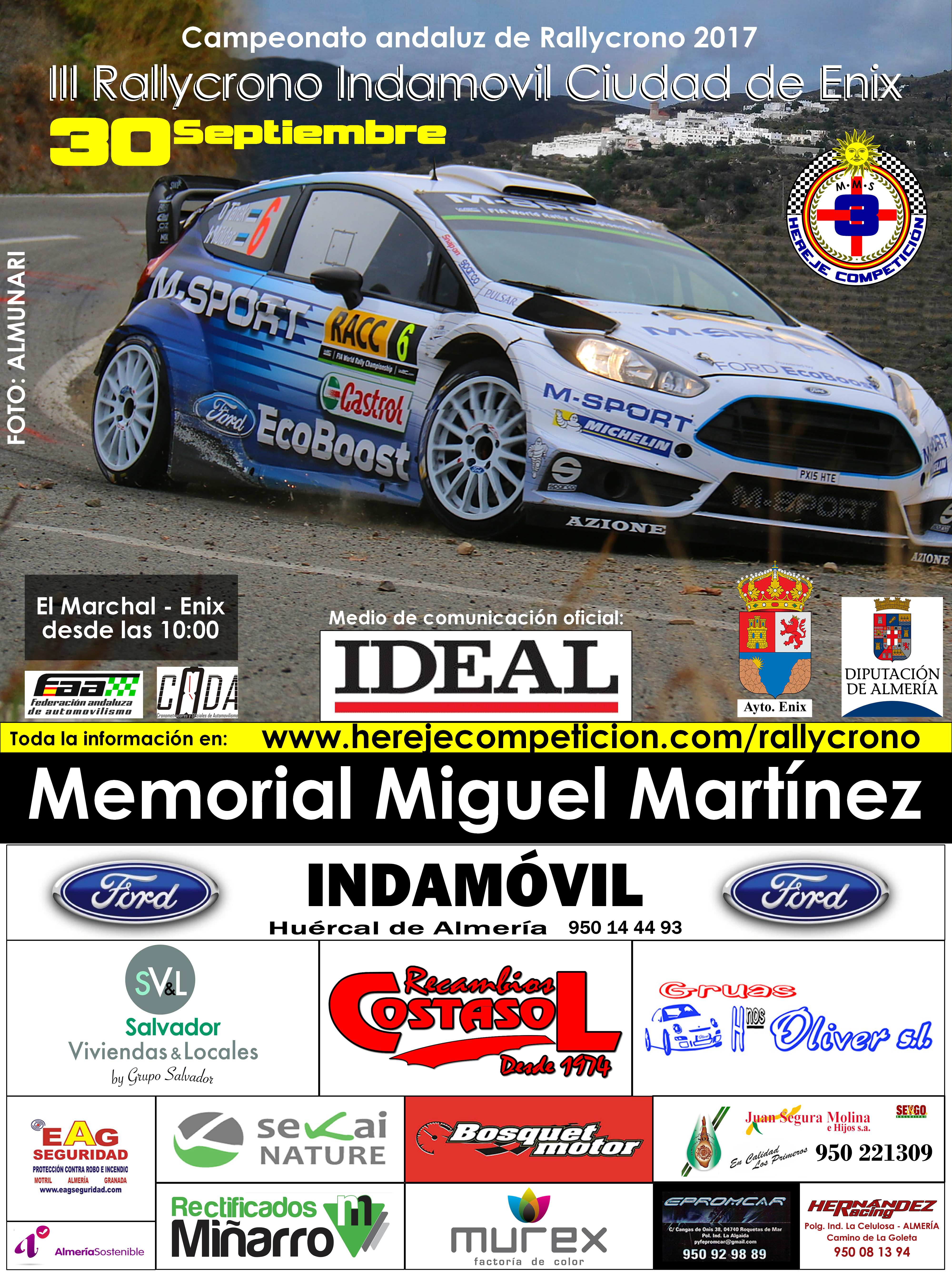 III Rally-crono Hereje Competicion