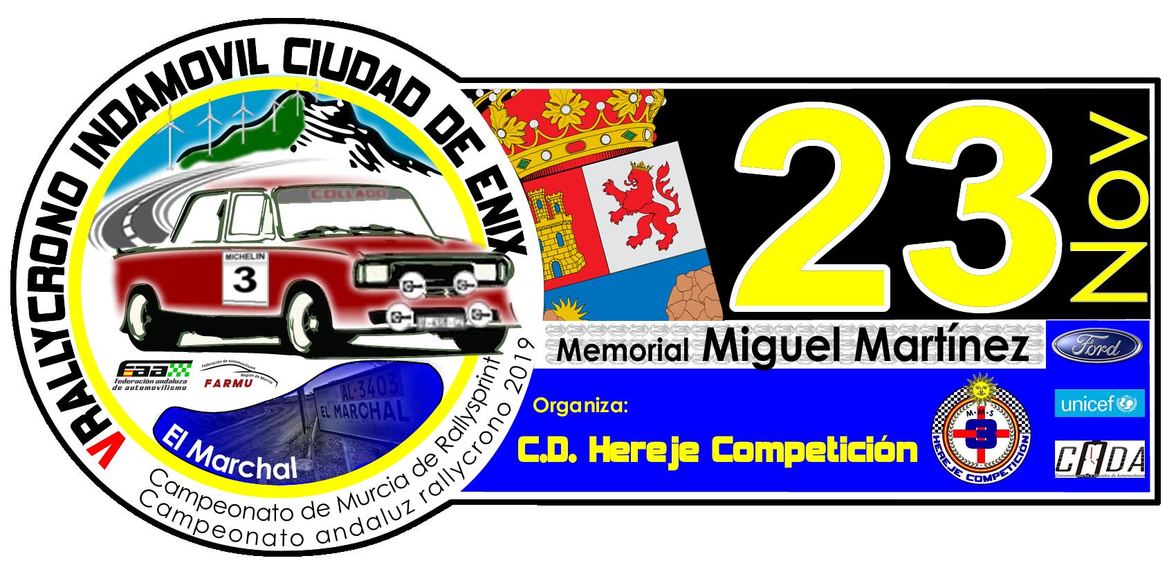5 Rally-crono INDAMOVIL Ciudad de Enix