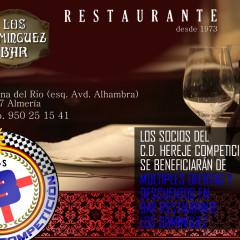 Bar Restaurante Los Dominguez & Hereje Competición