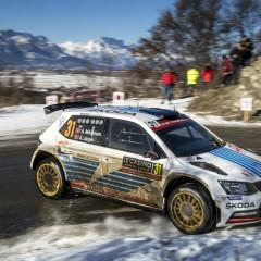 VIERNES WRC 2 EN EL 'MONTE': ANDREAS MIKKELSEN MÁS LÍDER