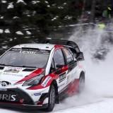 Los 'top' del Mundial de Rallyes entrenan en España