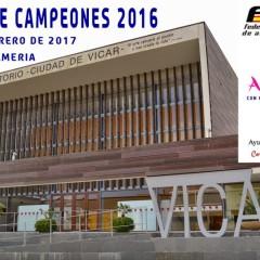 Vícar acogerá la Gala de Campeones de la Temporada 2016